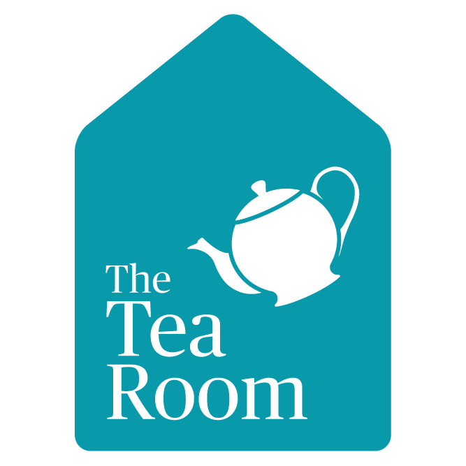 image of a teapot pouring over the text The Tea Rom